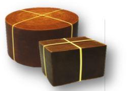 硫化水素除去フィルターコルラインの形状